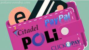 Deposit Methods in Online Pokies